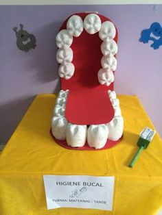 Dental Activities for Kids - Todo Sobre La Salud Bucal 2020 Science Activities, Science Projects, School Projects, Projects For Kids, Diy For Kids, Activities For Kids, Crafts For Kids, Dental Health Month, Oral Health