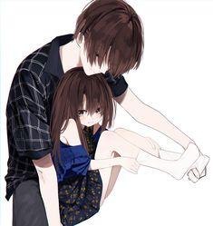 Anime Couples Drawings, Anime Couples Manga, Manga Anime, Anime Girl Neko, Anime Art Girl, Anime Girls, Anime Sexy, Akali League Of Legends, Anime Boy Zeichnung