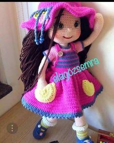 Popis fotky nie je k dispozícii. Amigurumi For Beginners, Amigurumi Toys, Free Pattern, Bunny, Crochet Hats, Teddy Bear, Crafty, Dolls, Knitting