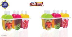 Checkout this latest Ice Cream Scoops Product Name: *Candy Mould, Ice Candy Maker Plastic Frozen Ice Cream Mould Tray of 6 Candy with Reusable Stick (Set Of 2)* Material: Plastic Pack: Pack of 2 Length: 22 cm Breadth: 9 cm Height: 14 cm Country of Origin: India Easy Returns Available In Case Of Any Issue   Catalog Rating: ★4.1 (722)  Catalog Name: Graceful Ice Cream Scoops CatalogID_3970240 C135-SC1652 Code: 622-19304717-876