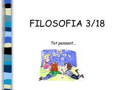 el perquè de la Filosofia 3/18 Philosophy For Children, Math Classroom, Conte, Coaching, Feelings, Reading, School, College, Books