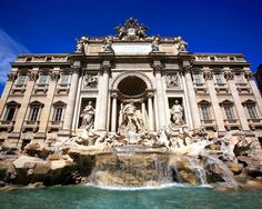 The Trevi Fountain in Rome, Italy. I made a vow here with a coin that I would someday return to Rome.. and hopefully I will keep that promise! My favorite place on earth!
