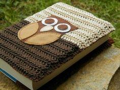 Obal na knihu obal čtení kniha obal na knihu háčkovaný obal
