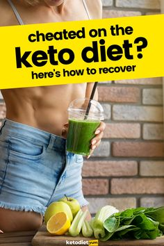 If you've cheated on the keto diet don't give up! It happens. Luckily, you can easily recover with these simple tips. Get back into the fat burning state of ketosis today.