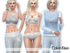 The Sims Resource: Sleepwear Set by Pinkzombiecupcakes • Sims 4 Downloads