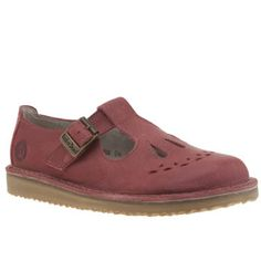 Womens Flats Red Jade Red Red Or Dead Increased Within Winter