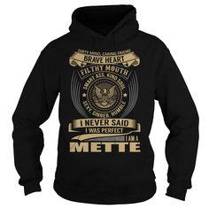 METTE Last Name, Surname T-Shirt
