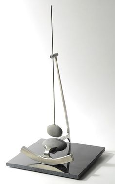 Buy online, view images and see past prices for DON MACLANE ORIGINAL SCULPTURE (Oregon, Invaluable is the world's largest marketplace for art, antiques, and collectibles. Modern Sculpture, Sculpture Art, Rolling Ball Sculpture, Home Clock, Mobile Art, Kinetic Art, Pottery Designs, Desk Accessories, Metal Art