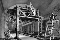 August 28, 1957: Drilling begins on the Fort Pitt Tunnels. [Historic Pittsburgh]