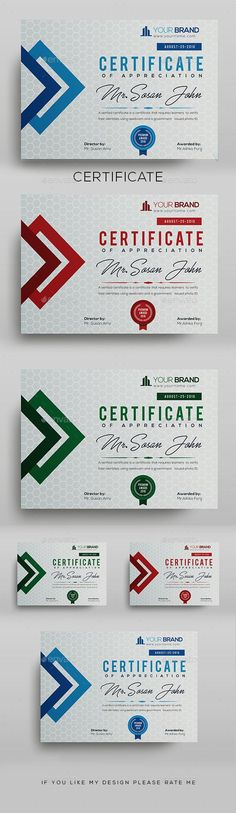 - Certificate Template Fully Clean Certificate Paper Size With Bleeds Quick and easy to customize templates Any Size Changes Fully Group Layer Free Fonts Use Fully Vector Stationery Printing, Stationery Templates, Stationery Design, Print Templates, Brochure Design, Business Templates, Icon Design, Print Design, Web Design