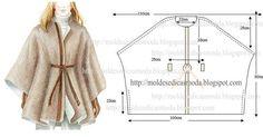 Confira aqui o passo a passo dos moldes de roupa fácil de fazer com as medidas incluídas nas imagens. Estas publicações têm como principal objectivo ajudar