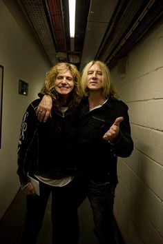 David Coverdale and Joe Elliott Photos | Def Leppard