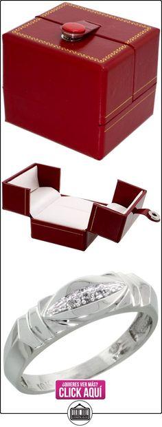 Revoni - Juego de alianzas de oro blanco  ✿ Joyas para hombres especiales - lujo ✿ ▬► Ver oferta: http://comprar.io/goto/B005M3CXP0