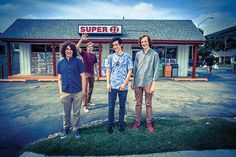 The Lukewarm — photographed at one of their favorite spots, the Super 11 at East 18th Street and South Boston Avenue.