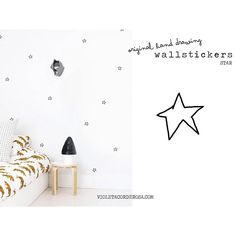 ☆ Wall stickers star