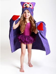 Zoocchini Hooded towels. Great for beach, pool, or bath!