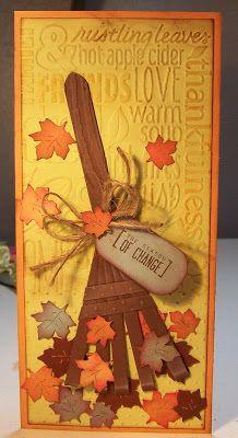 Bug Junkie - Fun fall cards