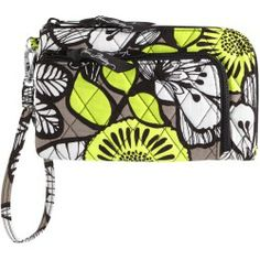 Vera Bradley Zip Zip Wristlet in Citron - products - Fashion Review Product