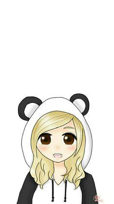 Panda Kawaii, Disney Characters, Fictional Characters, Snow White, Snoopy, Disney Princess, Drawings, Wallpapers, Iphone 8