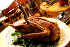 Traditional Roast Goose