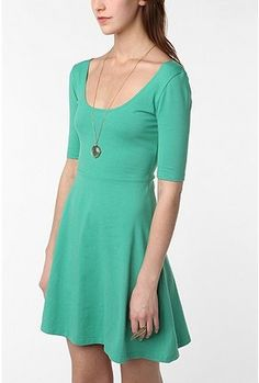 love this simple knit dress, inspiration for todays sewing