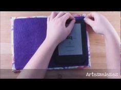 Nairamkitty DIY Tutorial Como hacer y coser una funda de portátil o tablet (patrones gratis) - YouTube