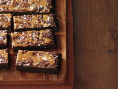 Salted Caramel Brownies from FoodNetwork.com