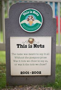It's a sad day when a Ben & Jerry's ice cream flavor retires. Visit the flavor graveyard to see some of your old favorites. Ben Und Jerrys, Sad Day, Ice Cream Flavors, Ben And Jerrys Ice Cream, Names