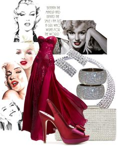 """Marilyn, Marilyn"" by edythe-hamilton ❤ liked on Polyvore"