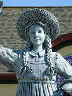 Anne of Green Gables Statue - Prince Edward Island - Photo by Miss Perry