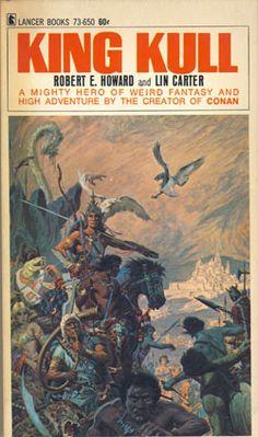 ROY G. KRENKEL JR. - King Kull by Robert E. Howard & Lin Carter - 1967 Lancer Books