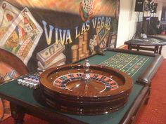 Bring Las Vegas into your own casino-themed parties and rent casino tables and slot machines for optimal enjoyment.