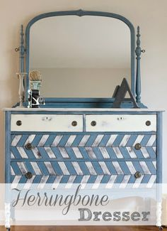 The Golden Sycamore - love this dresser redo!