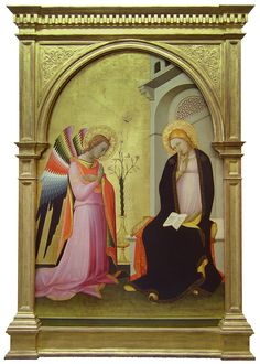 painting in arched frame - Google Search