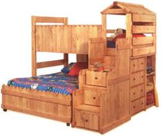 Loft kids beds via http://this-big-no-lie.blogspot.com