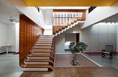 Resultado de imagem para como se hace para revestir una escalera de estructura de hierro con madera?