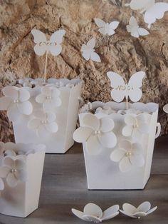 Confettata! Contenitori pop corn portaconfetti. Splendidi accessori per allestire la tua confettata! Ingrosso online shopguerrini.com