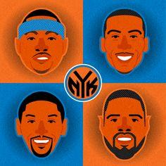 NBA by Jose Maria Ruiz, via Behance