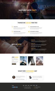 DIVI Layout for Small Business