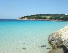 Corsica.. clearest of waters with green and blue.