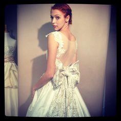 Heidi Elnora gown (via martha_weddings on instagram)
