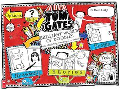 If you like Diary of a Wimpy Kids chances are you'll like The Brilliant World of Tom Gates and to go with the very funny book is a brilliant doodle tool. So ... get doodling