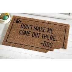 """probably the only """"Beware of Dog"""" sign I'm allowed in the neighborhood."""