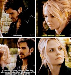 "Emma and Hook - 4 * 22 ""Operation Mongoose Part 2"" #CaptainSwan"