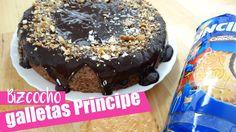 RECETA BIZCOCHO DE GALLETAS PRINCIPE SIN HORNO I Cake en el microondas m...