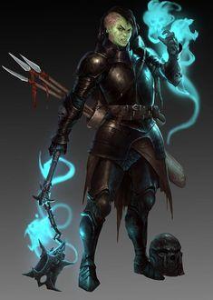 New Fantasy, Fantasy Warrior, Fantasy Rpg, Epic Characters, Fantasy Characters, Character Concept, Character Art, Character Ideas, Myths & Monsters