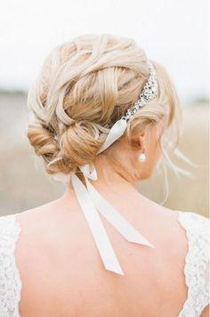 bruidskapsel kort haar