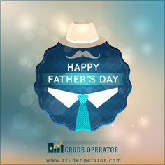 #HappyFathersDay You always stood by me at all time, you have made the world a better place.  http://www.crudeoperator.com/