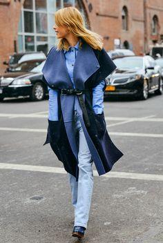 Razzle Dazzle Rose-Street Style-New York Fashion Week F/W '15