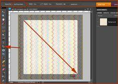 Digital Scrapper - make wavy stripes